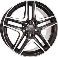 Литые диски TechLine TL723 BSD 7.5x17/5x112 D66.6 ET42 (Black Silica Diamond)