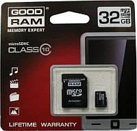Карта памяти MicroSD 32Gb  + adapter SD