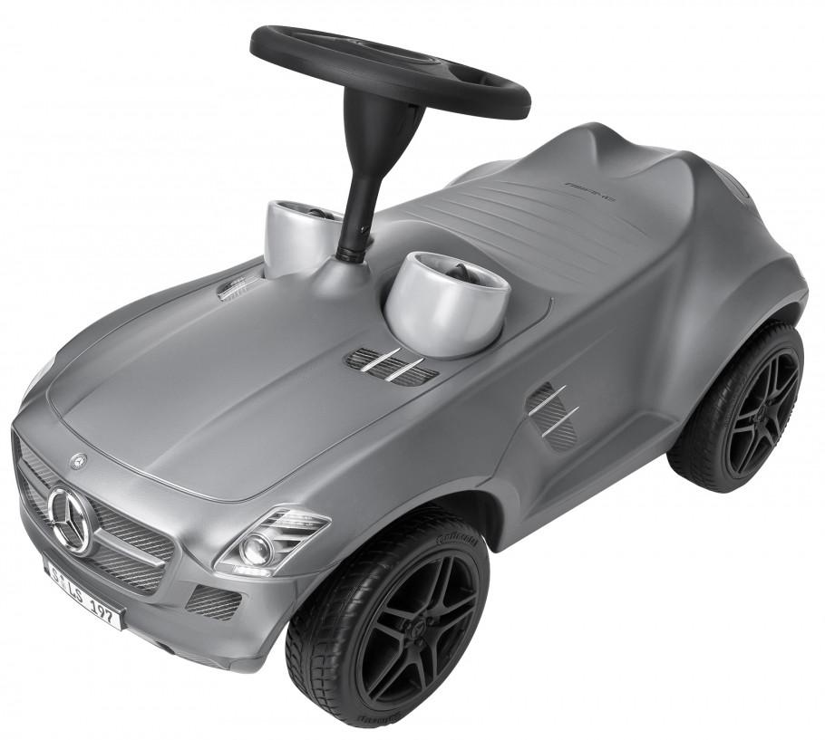 Детская машинка-каталка Big Mercedes (серая)