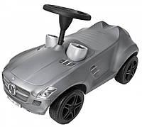 Детская машинка-каталка Big Mercedes (серая), фото 1