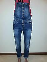 Комбинезон женский джинсовый Sessanta 4390