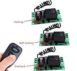 Бездротовий пульт дистанційного керування з модулем-приймачем DC 12v на 1 реле 220v, фото 7