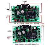Бездротовий пульт дистанційного керування з модулем-приймачем DC 12v на 1 реле 220v, фото 5