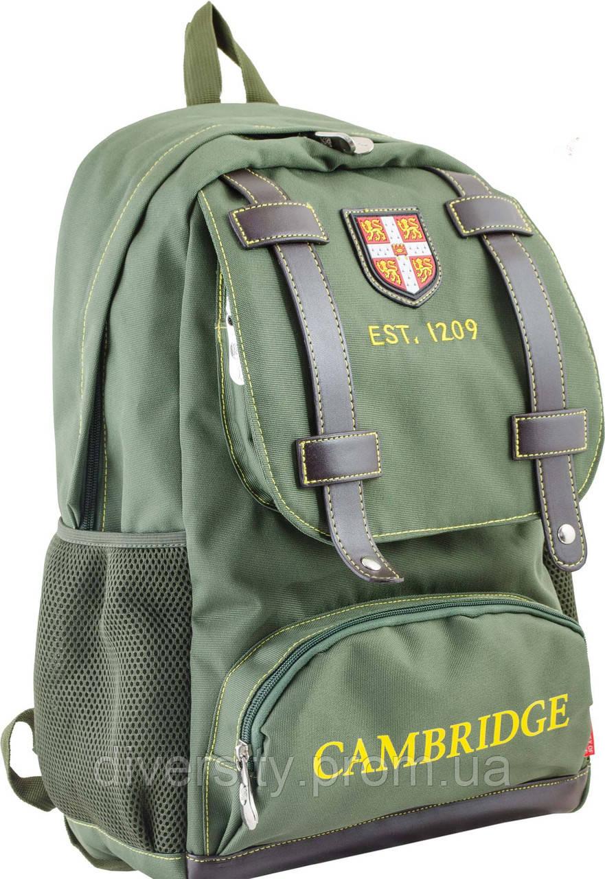 Ранец подростковый CA 080, зеленый, 31*47*17