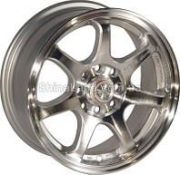 Литые диски Zorat Wheels ZW-356 SP 6.5x15/4x100/ D67.1 ET38 (Silver Polished)