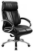 Кожаное кресло Аризона кожзам чёрный