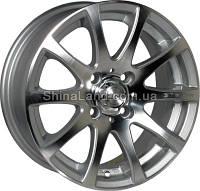 Литые диски Zorat Wheels ZW-3114Z SP 6.5x15/4x100 D67.1 ET38 (Silver Polished)
