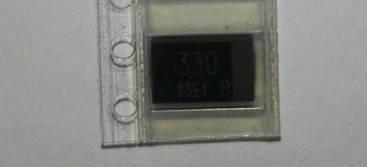 Танталовый конденсатор 330 мкФ для замены NEC OE907 OE128 , фото 2