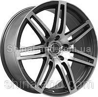 Литые диски Replica Audi A448 10x22 5x130 ET50 dia71,6 (GMF)
