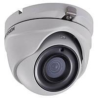 Hikvision DS-2CE56F1T-ITM (2.8 мм) - купольная Turbo HD видеокамера, разрешение 3Мп, ИК подсветка 20м.