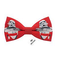 Bow Tie House™ Бабочка Стар Варс красная с белыми Штурмовиками