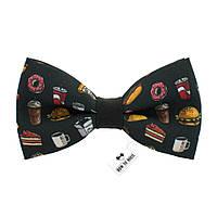 Bow Tie House™ Бабочка Фаст-фуд (бургер, сэндвич, донатс, кола, кофе, хот-дог)