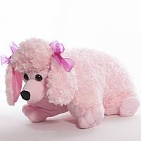 Детская подушка-складушка,собака.Пудель