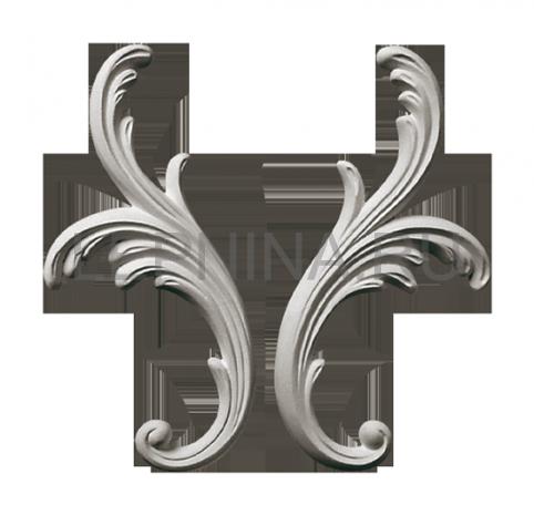 Гипсовая лепнина декоративный угол у-37