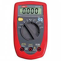 Мультиметр универсальный автомат UT33A, цифровой портативный тестер