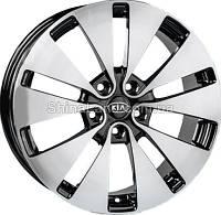 Литые диски Replica A-409 BF 7.5x18/5x114.3 D67.1 ET40 (Black Full Polished)