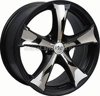 Литые диски Wolf S 1043 8.5x20/5x112 D66.6 ET45 (Black Matt with Chrome Inserts)