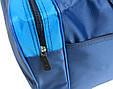 Сумка дорожная Wallaby 340-1 средняя 38 л, синий с голубым, фото 6