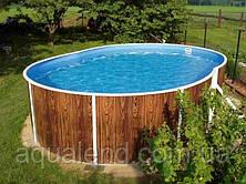 Каркасный овальный морозоустойчивый сборный бассейн 7,3х3,7х1,2м Mountfield (Чехия) 405 DL без оборудования, фото 2