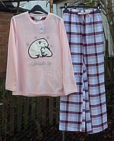 Женская пижама флис + байка Primark