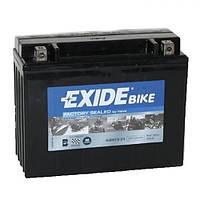 EXIDE SLA12-23 Мото аккумулятор 21 А/ч, 350А, (-/+), 205х86х162 мм