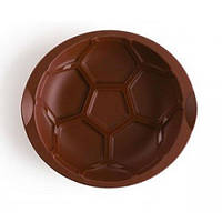 """Силиконовая форма для выпечки """"Футбол"""" Tupperware .Идеальна для пирога или запеканки - 24 см в диаметре"""