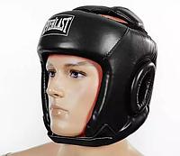 Шлем бокс открыт. с усилен.защитой макушки PU ELAST (черный, р.L)