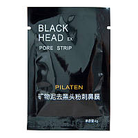 Черная маска-пленка от черных точек PIL'ATEN SUCTION BLACK MASK 6 грамм