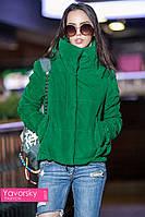 Куртка БАРХАТ цвет зеленый