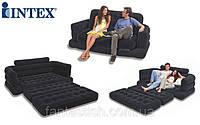 Велюр диван INTEX 68566 раскладной 193*231*71см IKD