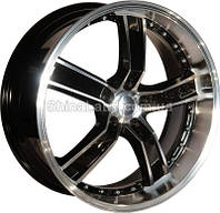 Литые диски Allante 573 BF 8.5x20/5x114.3 D73.1 ET35 (Black Full Polished)