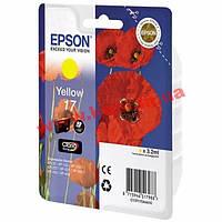Картридж EPSON 17 yellow (для XP103/ 203/ 207) (C13T17044A10)