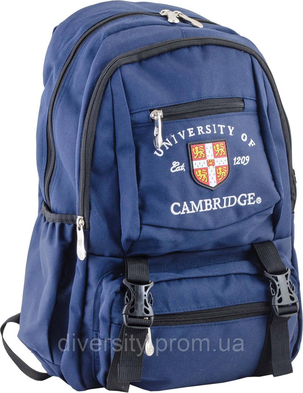 Ранец подростковый CA 079, синий, 31*43*13