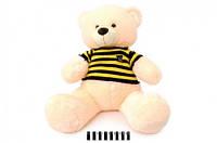 Мягкая игрушка Медвежонок в вязаной кофте молочный 40см., 1335/40