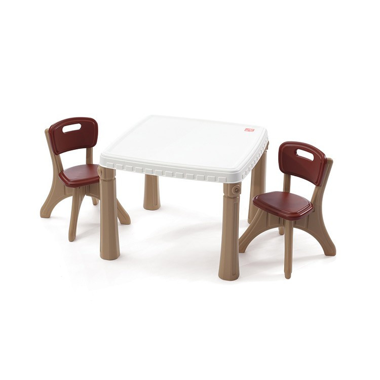 "Набор: стол и 2 стула ""KITCHEN TABLE & CHAIRS"", 48х64х64 см/ 50х35х35 см"