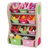 """Органайзер с разноцветными ящиками """"FUN TIME ROOM ORGANIZER"""", 89х67х36 см, розовый/салатовый"""