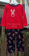 Пушистая флисовая пижама для мальчика  Primark Англия
