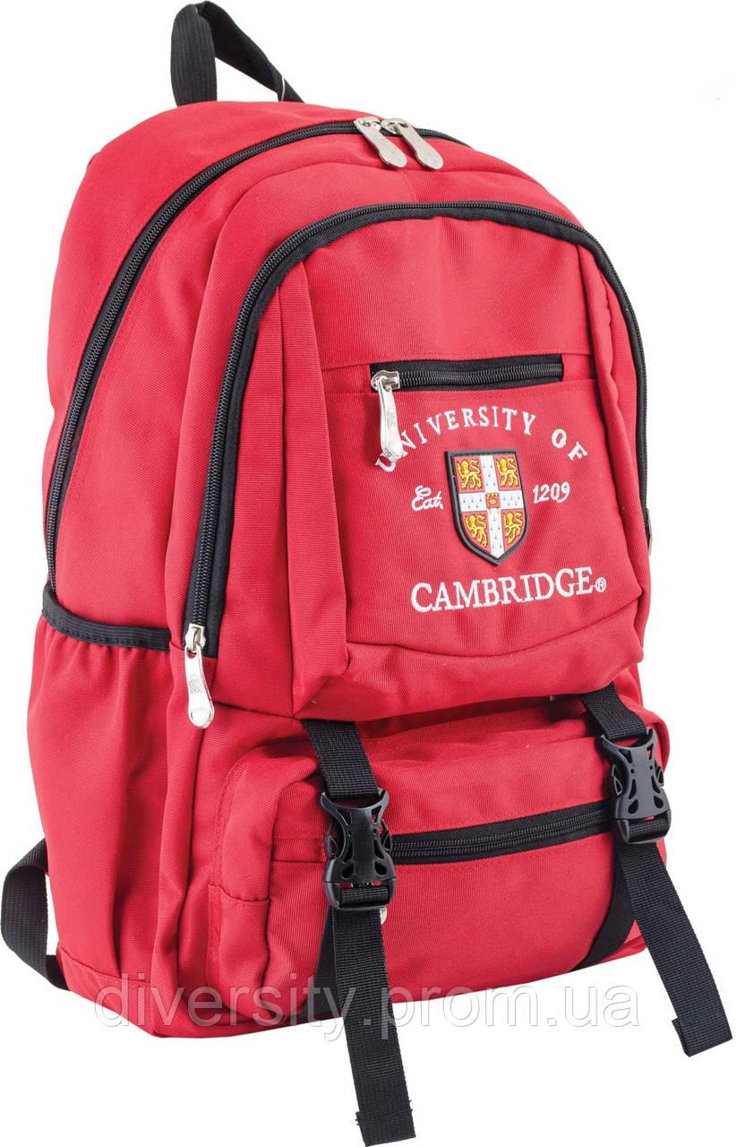 Ранец подростковый CA 079, красный, 31*43*13