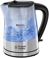 Электрочайник russell hobbs 22850-70 purity с фильтром brita