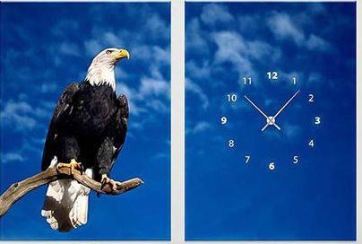 """Модульная картина-часы (100х70 см) """"Орлан"""""""