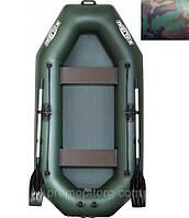 Лодка надувная Колибри гребная Стандарт цвет камуфляж (без пайола) KDB К-260Т /01-542