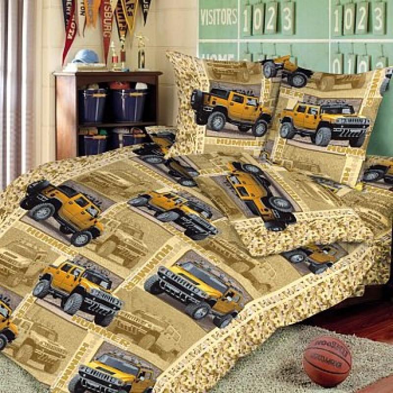 Постельное белье Сафари бязь ТМ Царский дом в кроватку