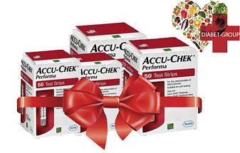 Тест-полоски Акку-Чек Перформа (Accu-Chek Performa) 50 шт. 4 упаковки, фото 2