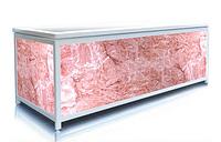 Екран під ванну ЕЛІТ Рожевий лід 160 см