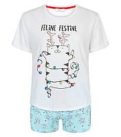 Трикотажная пижама для девочки  New Look Англия