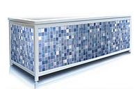 Екран під ванну ЕЛІТ Синій кахель 160 см