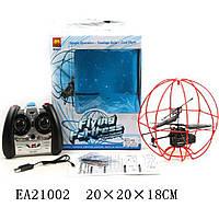 Вертолет-шар Р/У (арт. BN837), пластик,USB, аккумулятор,20x20x18 см JAMBO 100074294