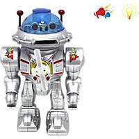 Робот батар, свет, звук (арт. 0905), пластик, Коробка с открытым окном, 21.00x14.00x28.00 см, 3-6 лет, Jambo, 100928269