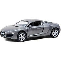 """Машинка легковая 5"""" KT5315W AUDI R8 метал.инерц.откр.дв.1:36"""