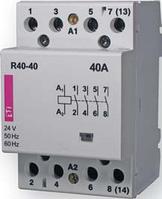 Контактор модульный R 40-40 230V 40A